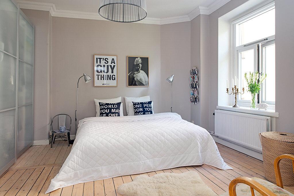 Habitaciones de matrimonio con estilo n rdico tu toque personal - Habitaciones nordicas ...