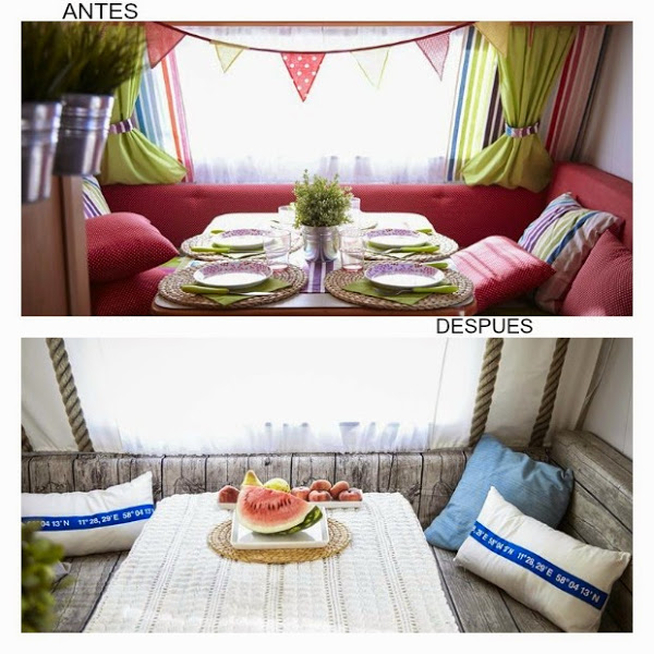 Caravanas con estilo tu toque personal - Interiores de caravanas ...