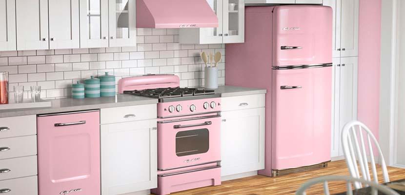 Tu toque personal blog de decoraci n ideas e inspiraci n for Cocinas de color rosa