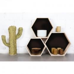 3-estanterias-hexagonales-vintage-pared-mueble